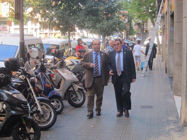 Miquel Iceta, Àngel Ros (PSC)