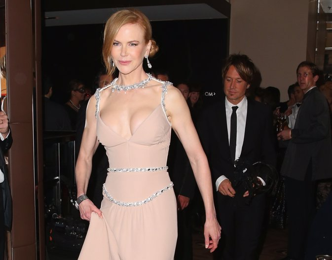 Nicole Kidman And Keith Urban Nuevo Escote Y Exuberante Aumento Pecho
