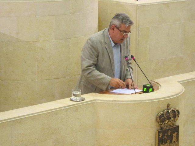 El portavoz del PP, Eduardo Van den Eynde