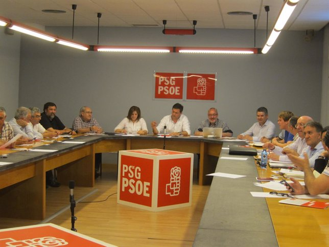 Reunión de la ejecutiva del PSdeG