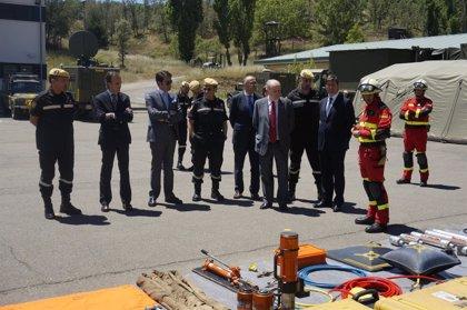 CANTABRIA.-El delegado del Gobierno visita el V Batallón de Intervención en Emergencias de la UME