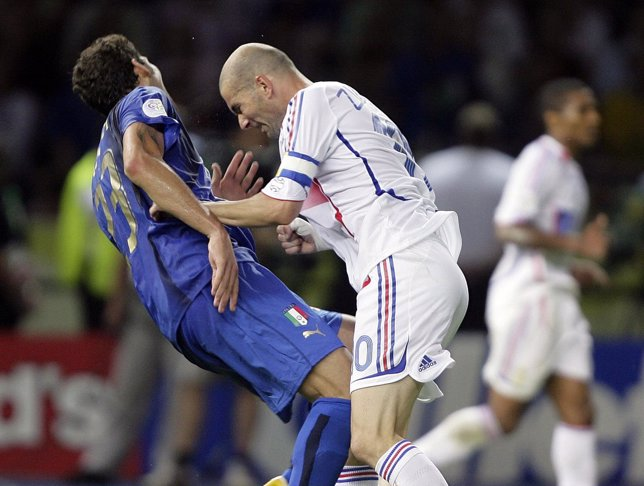 Cabezazo Zidane