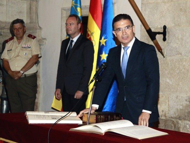 Castellano toma posesión de delegado del Gobierno