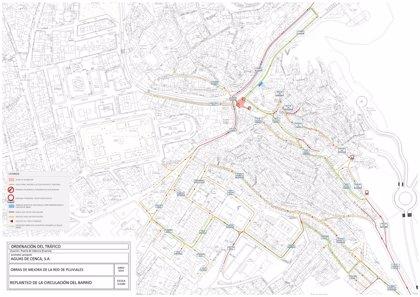 El lunes 23 empezarán las obras  del colector de la Puerta de Valencia