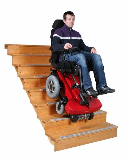 TopChair - La silla de ruedas eléctrica sube escaleras