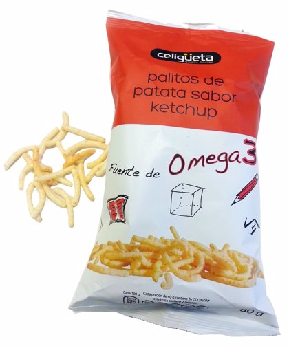 AZTI formula unos palitos de patata que contribuyen al crecimiento de los niños