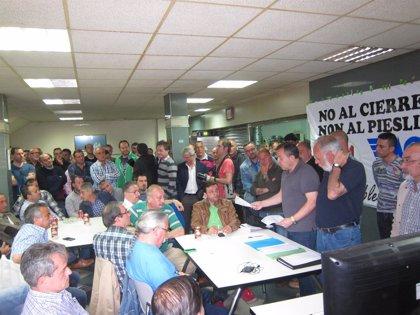 (Ampl.)El Comité de Empresa de Tenneco alcanza un preacuerdo para la reapertura de la factoría de Gijón