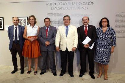Sevilla.- Cultura.- Una muestra recupera imágenes del Arte Antiguo exhibido en la exposición del 29