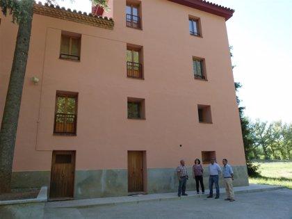 La Diputación de Teruel finaliza las actuaciones de mejora en la Colonia Polster