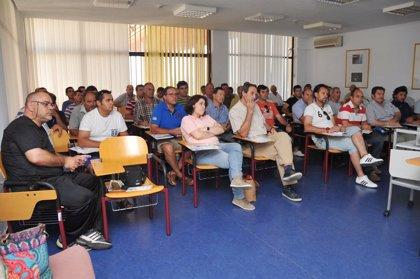 La Diputación imparte cursos de formación de prevención de riesgos laborales en obras de carreteras