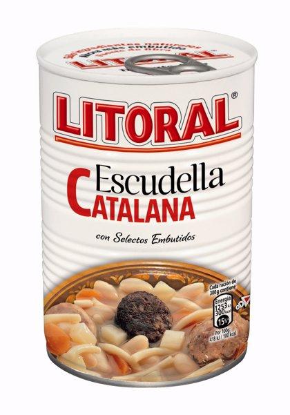 Economía/Consumo.- Litoral retira dos lotes de 'escudella catalana' por un error en el etiquetado