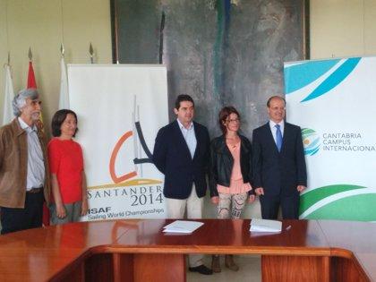 Los alumnos de la Escuela de Fisioterapia adscrita a la UC realizarán prácticas en el Mundial de Vela