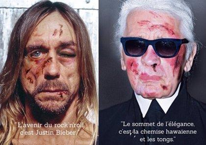 Iggy Pop, torturado por Justin Bieber