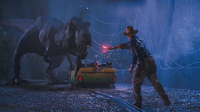 Tiranosaurio Rex en Jurassic Park
