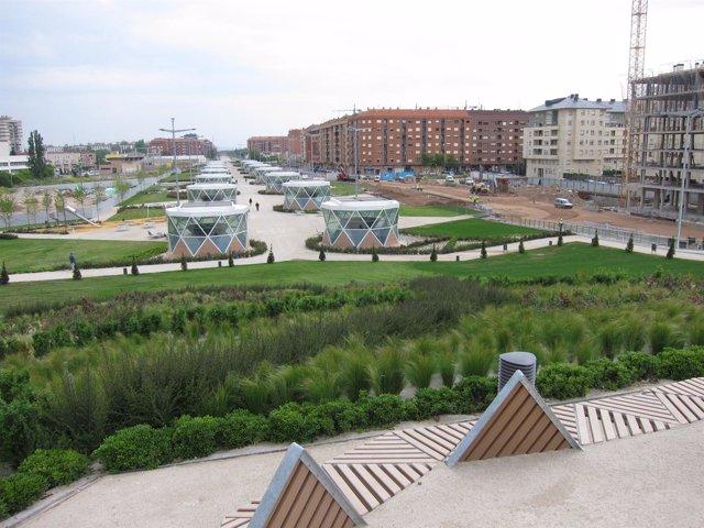 Imagen del nuevo Parque del Rey Don Felipe VI