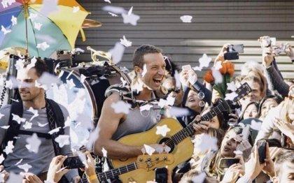 Coldplay estrena el videoclip de A Sky Full of Stars