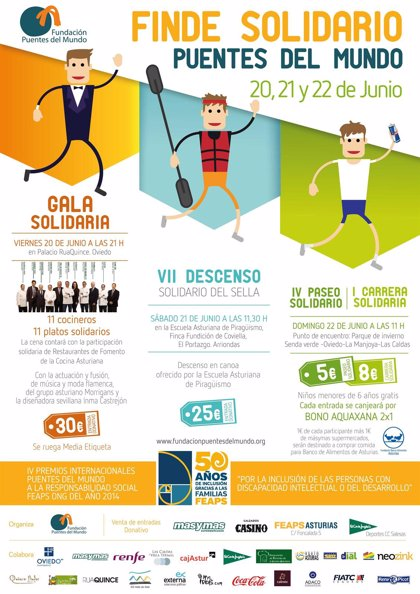 Arrionadas acoge la séptima edición del Descenso Solidario del Sella