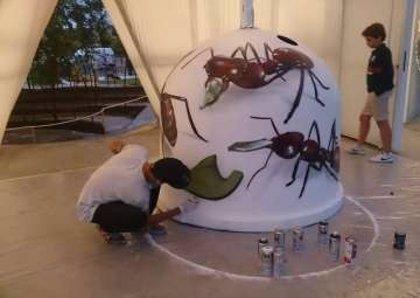 Jóvenes de 14 a 35 años podrán participar en un concurso de graffiti sobre contenedores para fomentar el reciclaje