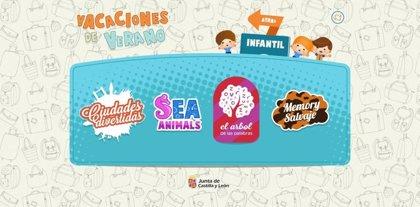 El Inglés y la geografía de la Comunidad centran las actividades del escritorio de verano en el Portal de Educación