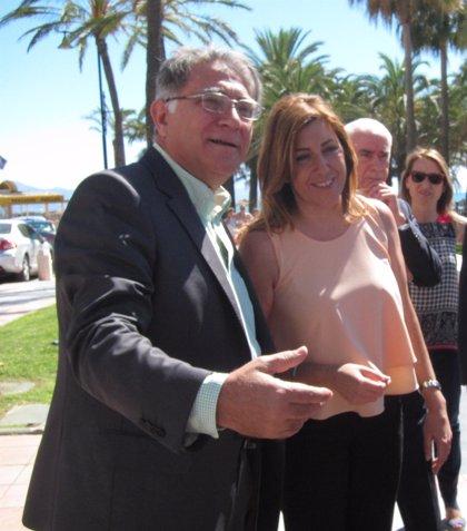 """Díaz destaca su """"buena relación"""" con Felipe VI, quien le trasladó su voluntad de reunirse con las CCAA"""