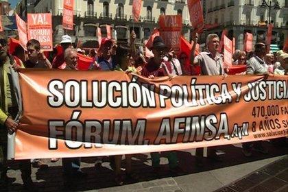 Afectados por Forum y Afinsa piden una solución tras ocho años de espera