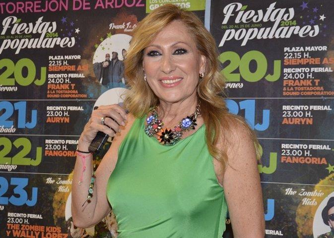 Rosa Benito la estrella de Torrejón