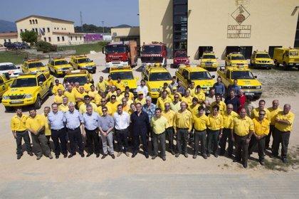 40 efectivos de las ADF controlarán los incendios de la provincia de Girona este verano