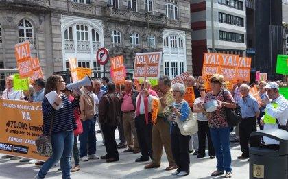 Afectados por Forum y Afinsa reclaman en Vigo una solución política