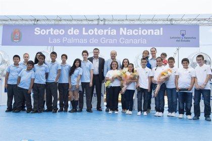 La Lotería Nacional celebra uno de sus 'Sorteos Viajeros' en Las Palmas de Gran Canaria