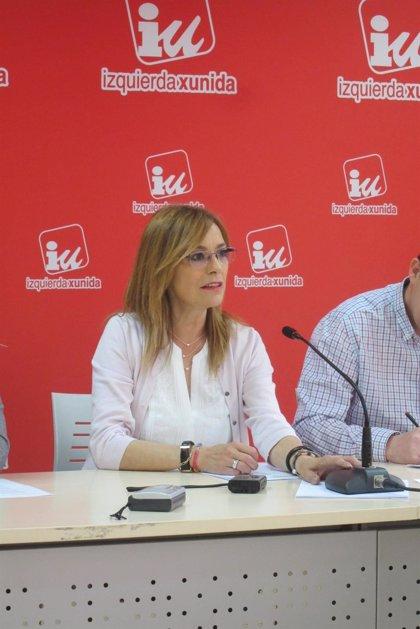 La eurodiputada Ángela Vallina (IU) defiende el referéndum sobre primarias convocado para el 25 de junio