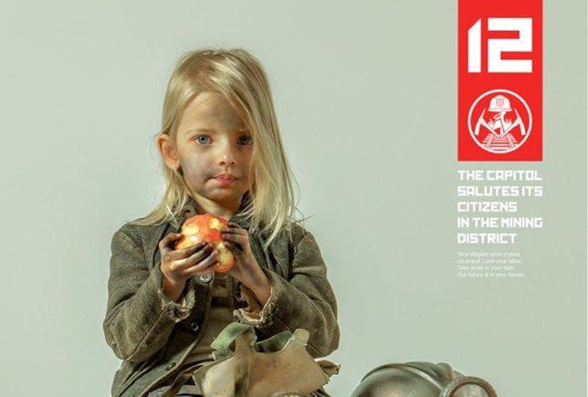 Cartel promocional de Los juegos del hambre: Sinsajo