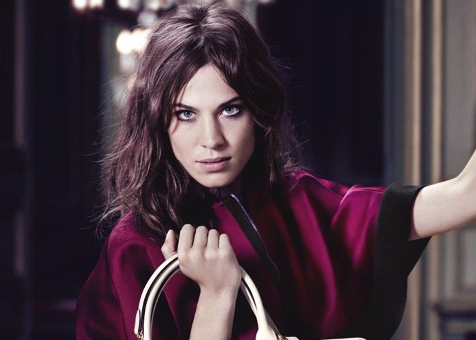 Alexa Chung repite como imagen de Longchamp