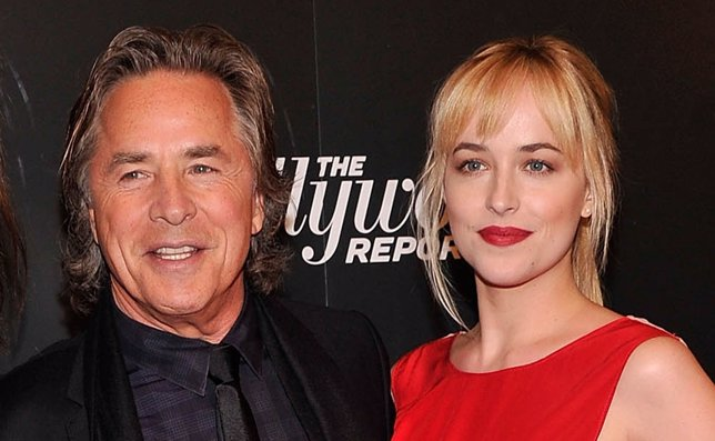Don y Dakota Johnson