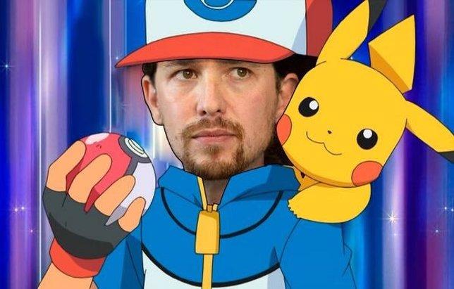 Pablo Iglesias, líder de 'Pokémon'