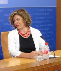 Alba Doblas, hoy ante los medios