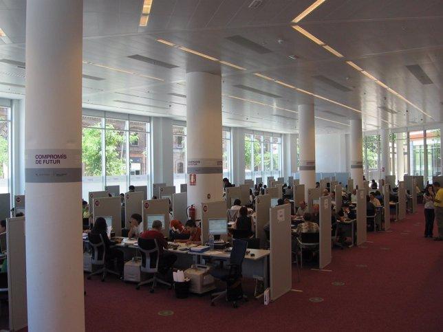 Oficina de la Agencia Tributaria en Barcelona