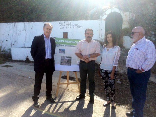 Presentación de proyecto de adecuación de la carretera entre Torres y Albanchez