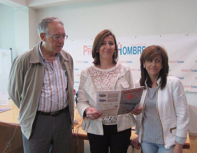 Responables de Fundación Aldaba-Proyecto Hombre