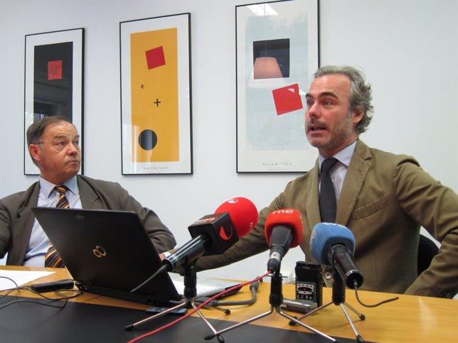 Román Felones y Santiago Iraburu.
