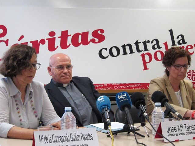 Presentación de la Memoria Institucional de Cáritas 2013