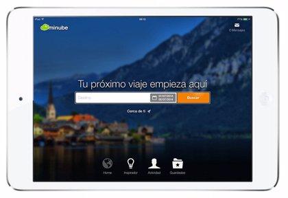 Minube lanza su primera aplicación para tabletas