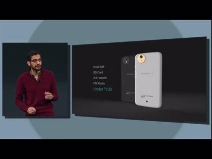 Google anuncia AndroidOne, una plataforma para móviles 'lowcost'