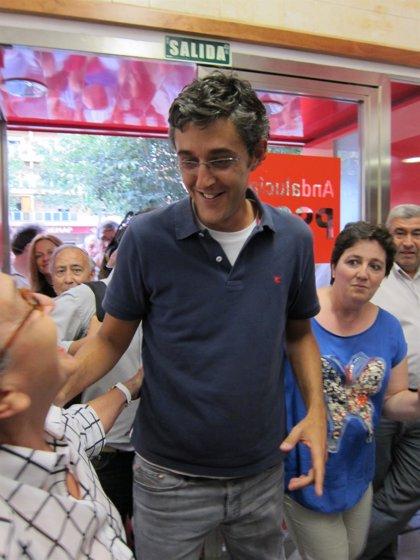 """Madina mantiene que su posición respecto a Cataluña pasa por """"la """"Declaración de Granada"""" del PSOE"""