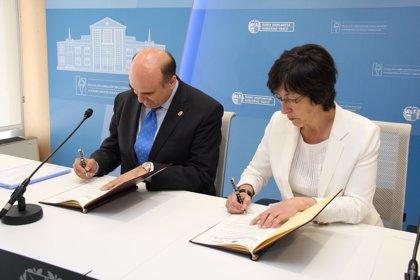 Navarra y País Vasco firman un acuerdo para incrementar la coordinación entre la Policía Foral y la Ertzaintza