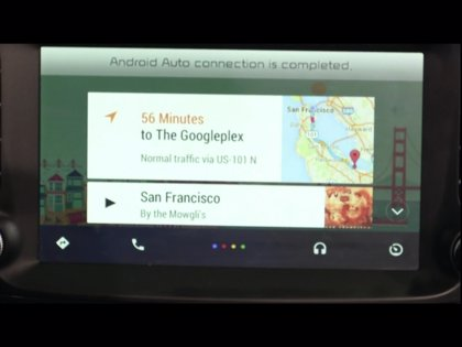 Google anuncia Google Auto