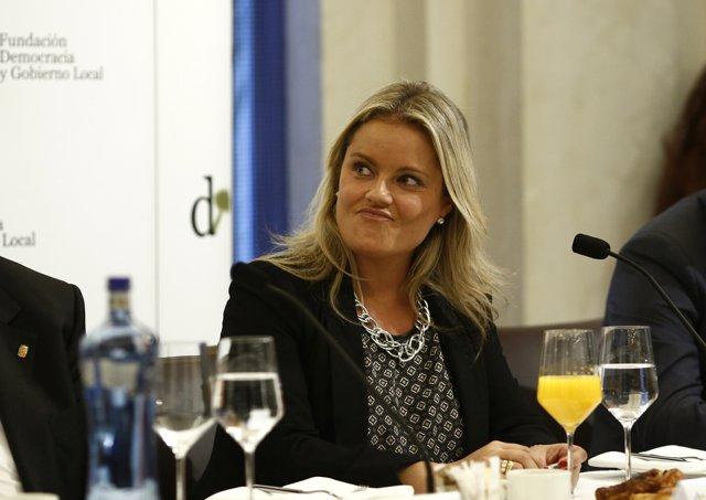 La presidenta de la Fundación Víctimas del Terrorismo, Mari Mar Blanco