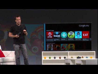 Google anuncia Android TV, que también es consola de videojuegos