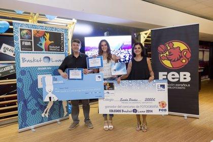 Hada Expósito y Mar Ambrós, ganadoras del Programa 'Colegios Basket Lover 2014'