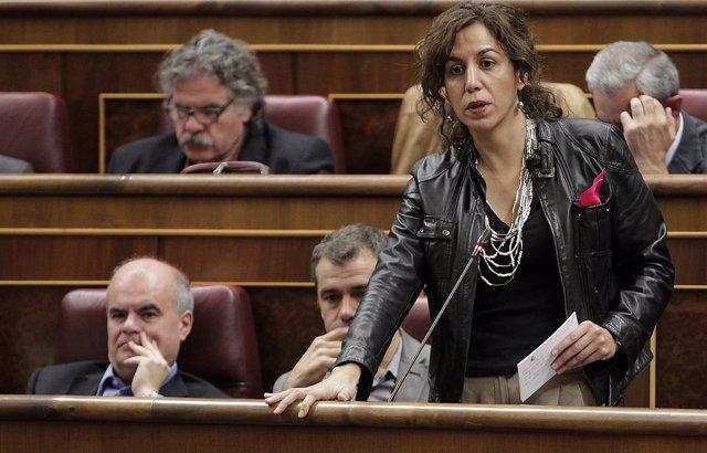 Irene Lozano, con Carlos Martínez Gorriarán y Toni Cantó