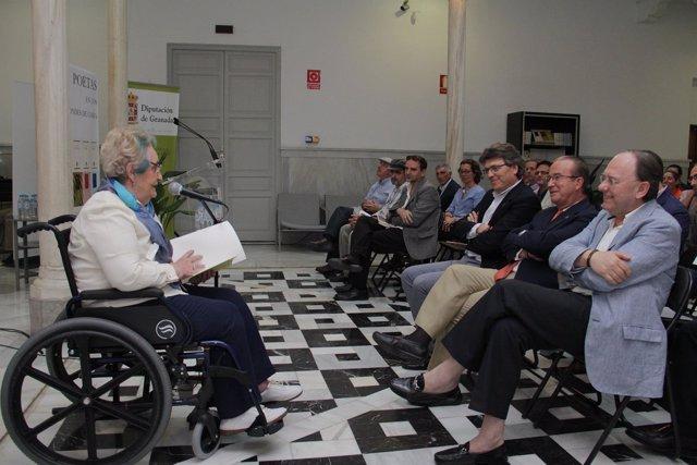 Encuentro de poetas en apoyo a Granada como capital de la poesía